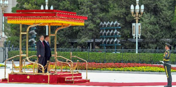Касым-Жомарт Токаев провел переговоры с Председателем КНР