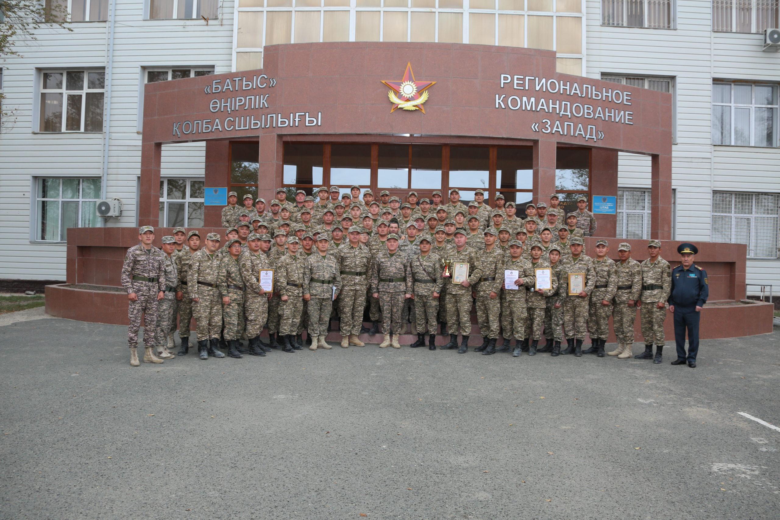 Воинские сборы офицеров запаса завершились в ряде регионов Казахстана