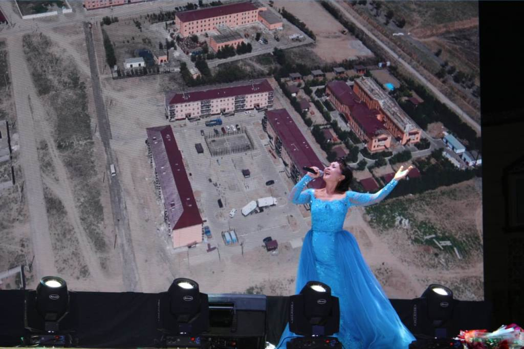 В Арыси прошел концерт «жаса, жайна алашымның арысы»