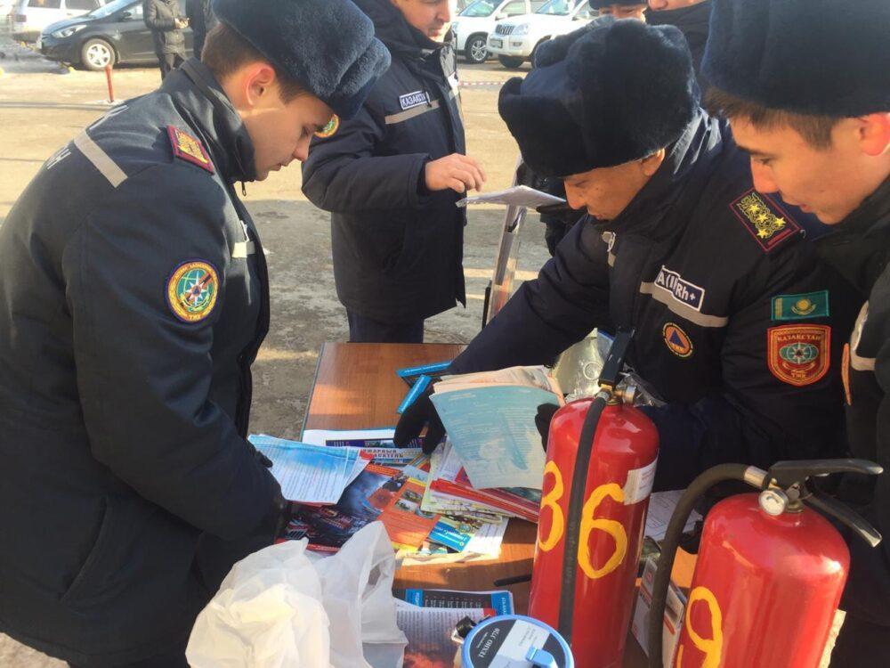 В жилых домах Нур-Султана выявлено 146 тысяч нарушений требований пожарной безопасности