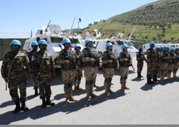 Казахстан продолжает миссию в Ливане 5