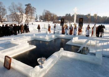 В столице определили места для крещенских купаний