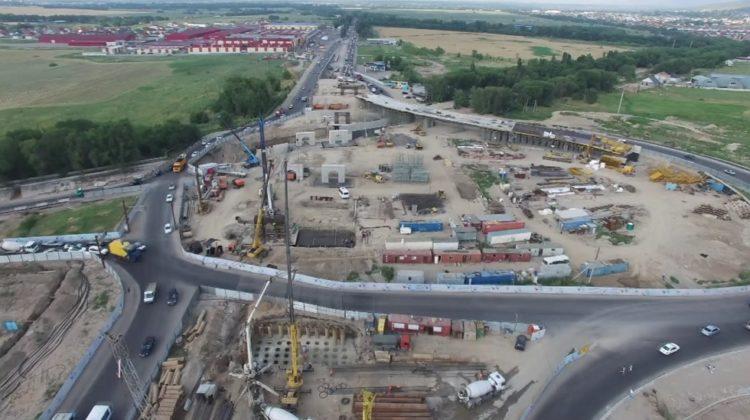 Строительство развязки на Кульджинском тракте в Алматы завершится через 2 года 1