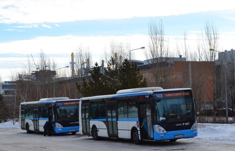 Движение пригородных автобусов приостановлено в Нур-Султане