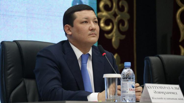Аким Атырау Алимухаммед Куттумуратулы ушел в отставку