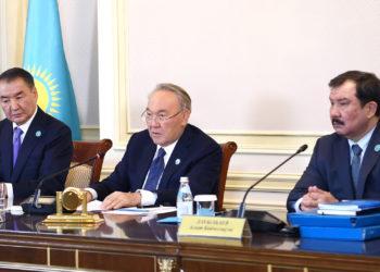 Назарбаев принял участие в заседании Конституционного Совета