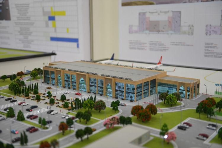 Когда завершится строительство аэропорта Туркестана, рассказали в акимате