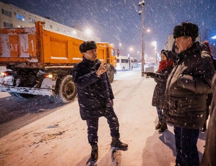 Статистикой по уборке снега в Нур-Султане поделился аким