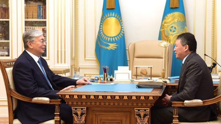 Что обсуждали Токаев и Кулибаев в Акорде 1