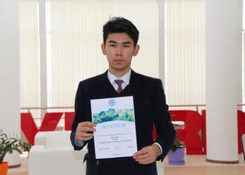 Ученик кызылординской НИШ претендует на звание лучшего геолога мира 2
