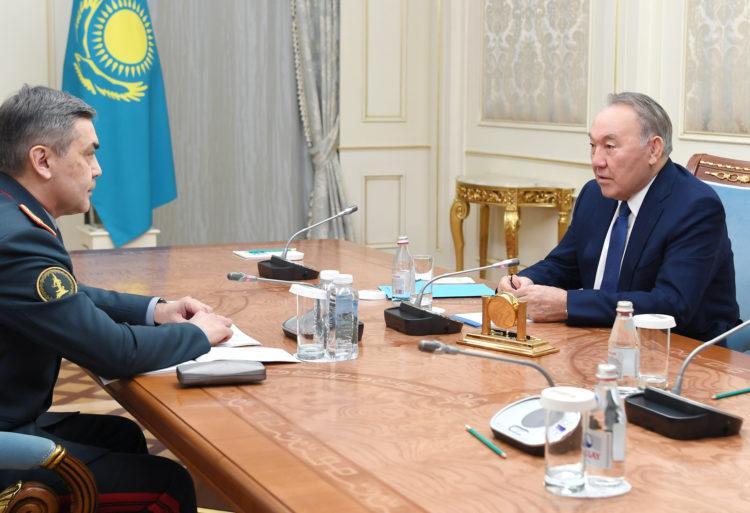 Назарбаев указал на необходимость поддержания боеготовности армии Казахстана 1