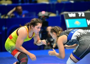 Казахстанка стала чемпионкой Азии по женской борьбе