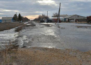 Паводки грозят более 90 населенным пунктам СКО