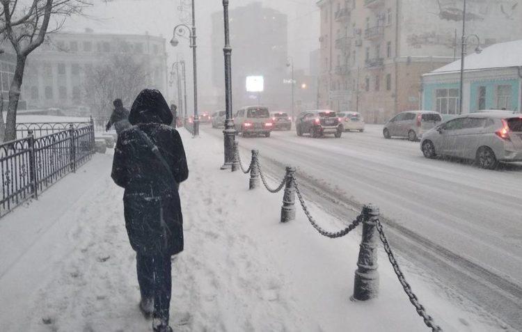 Дождь и сильный снегопад ожидаются в ряде регионов Казахстана 11 февраля