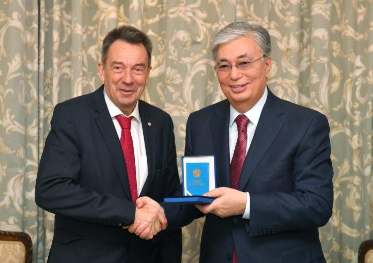 Токаев провел встречи с главами международных организаций 1
