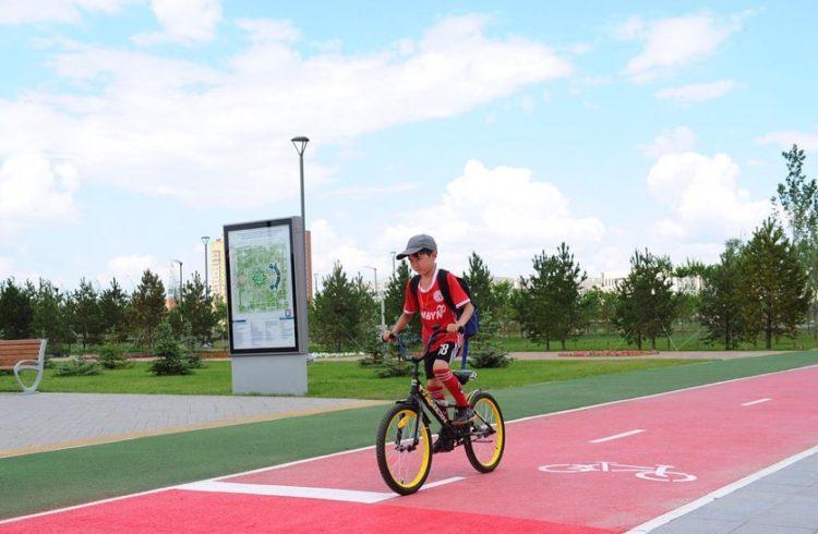 130 километров новых велодорожек появятся в Нур-Султане