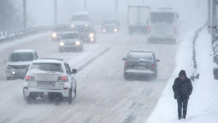 Снег, метели и туман ожидаются в Казахстане 19 февраля