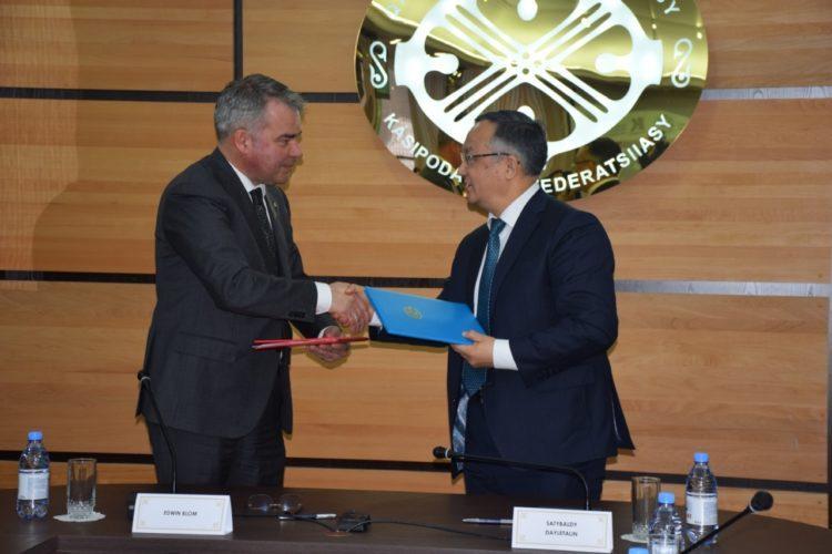В Казахстане подписали первое корпоративное социальное соглашение 1