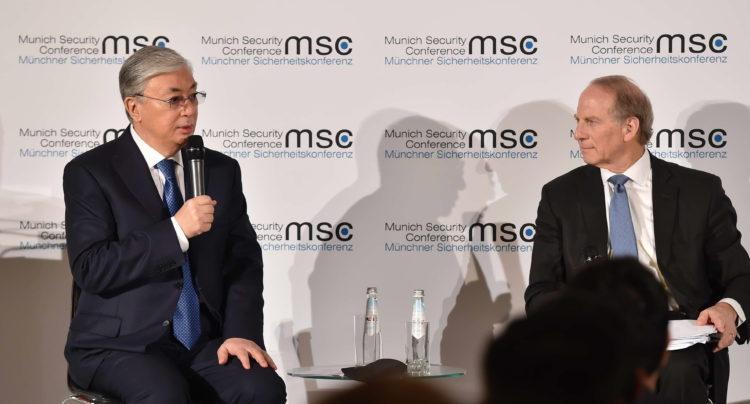 Токаев выступил на Мюнхенской конференции по безопасности