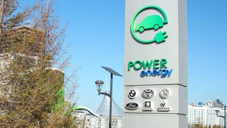 Почти сто зарядных станций для электромобилей заработали в Казахстане