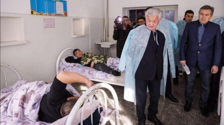 Столкновение в Кордае: 170 пострадавшим оказана медпомощь, 41 из них остаются в больницах 1