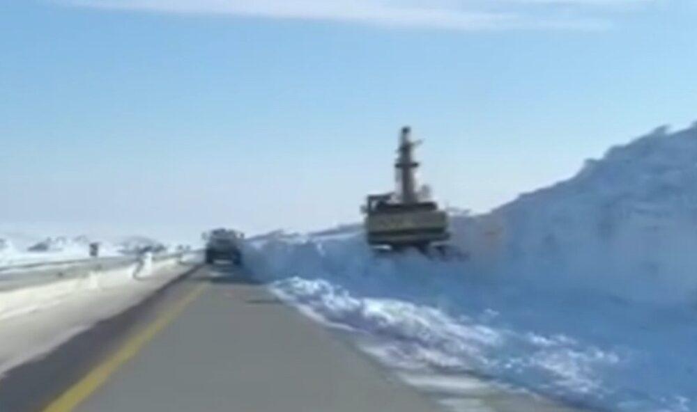 За медленную уборку снега наказан филиал «Казахавтодор» в Караганде 1