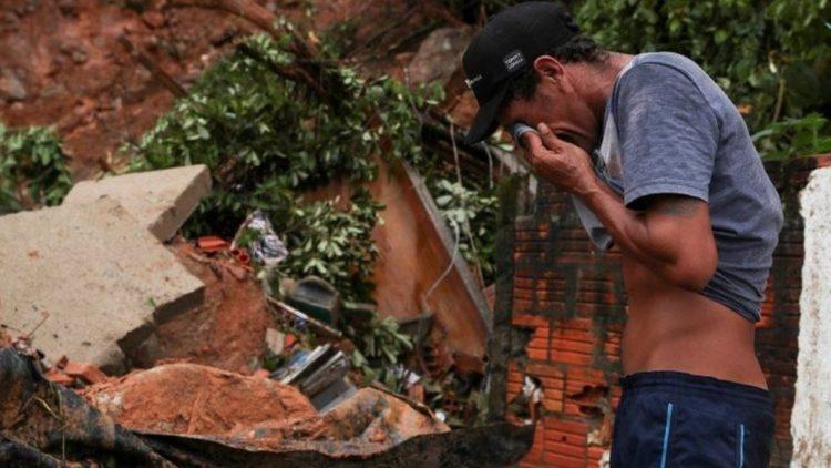 Более двадцати людей погибли из-за дождя в Бразилии 1