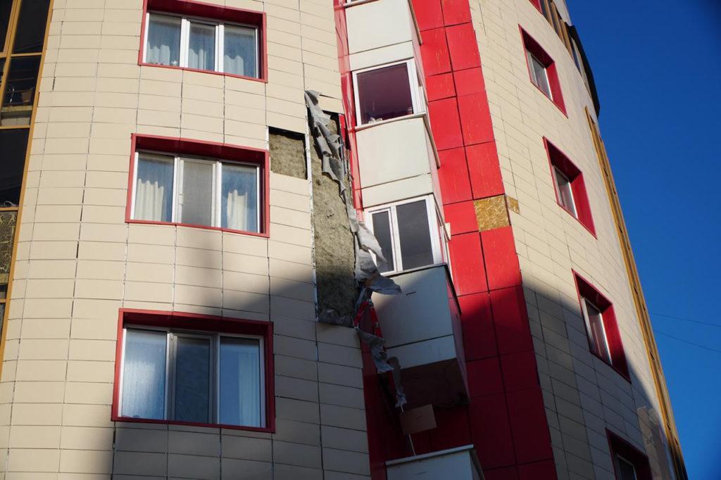 Опасные фасады многоэтажек заменят в Нур-Султане 1