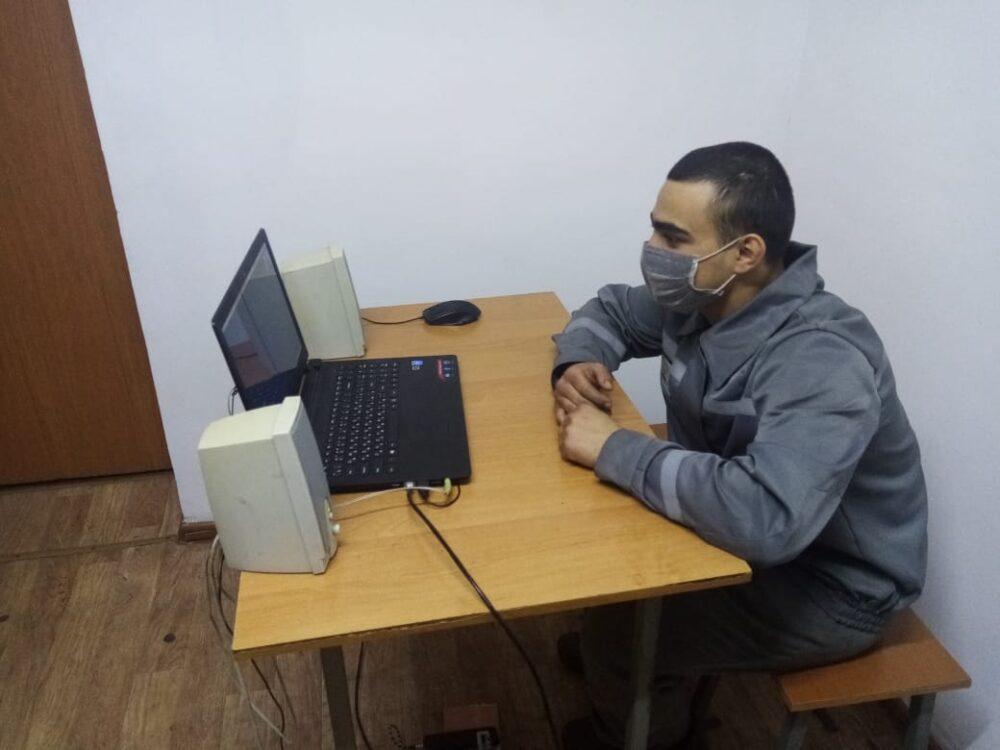 Осужденные СКО во время ЧП встречаются с родственниками только виртуально 1