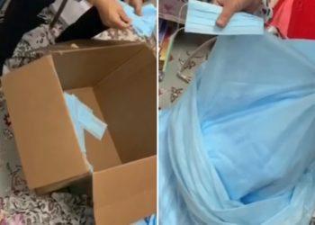 Шили маски в квартире и продавали через сайт: незаконную торговлю пресекли в Нур-Султане