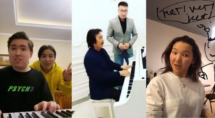 «Коронавирус, кет!». Казахстанские артисты запустили массовый челлендж 1