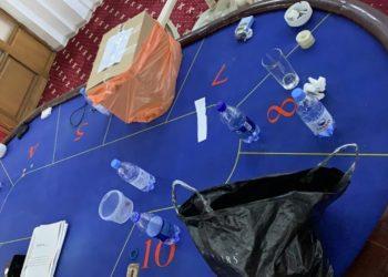 Казино с 30 посетителями работало в центре Алматы во время режима ЧП