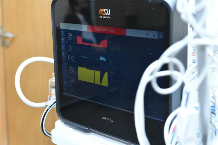 26 закупленных в Германии аппаратов ИВЛ получили больницы Туркестанской области
