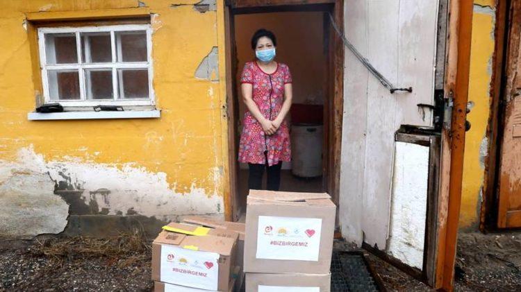 Социально-уязвимые семьи в Актобе получают помощь от фонда Birgemiz 1