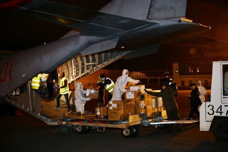 Более 130 тысяч медицинских масок доставили из Китая в Нур-Султан 1