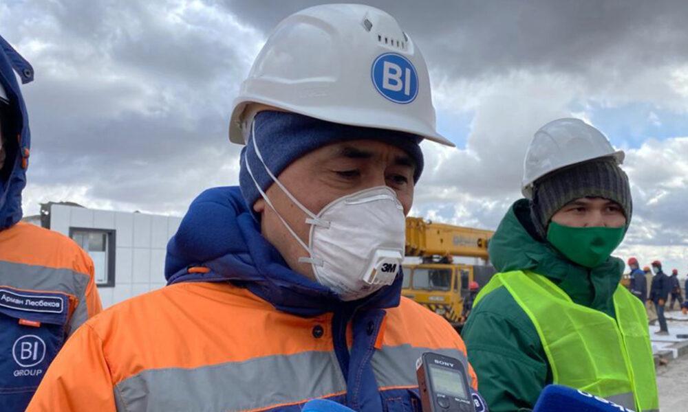 В Казахстане за 20 дней построят новый госпиталь для больных коронавирусом 3