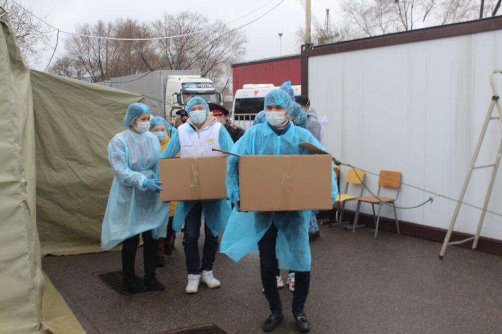Акция «BizBirgemiz»: еще свыше 28 тысяч алматинцев получат матпомощь 1