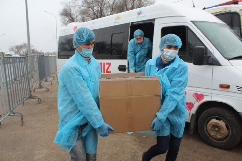 Акция «BizBirgemiz»: еще свыше 28 тысяч алматинцев получат матпомощь 2