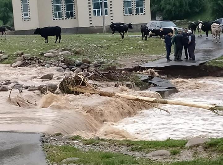 Из подтопленных сел Туркестанской области вновь эвакуируют жителей