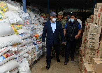 В Мактааральский район доставили 40 тонн гуманитарной помощи от партии Nur Otan