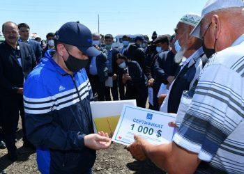 Фото: пресс-служба акима Туркестанской области