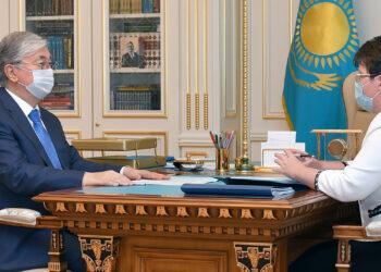 Глава Счетного комитета рассказала Токаеву о контроле антикризисных расходов 3