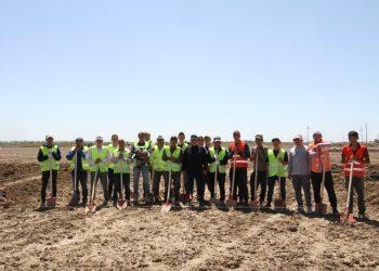 Мактааральцы сами строят новые дома на месте затопленного поселка 4