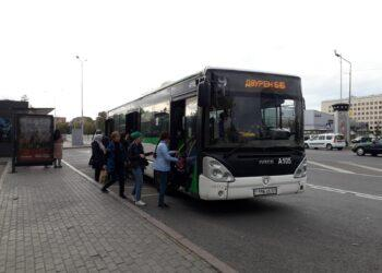 Движение автобусов могут приостановить в столице из-за несоблюдения санитарных норм 1