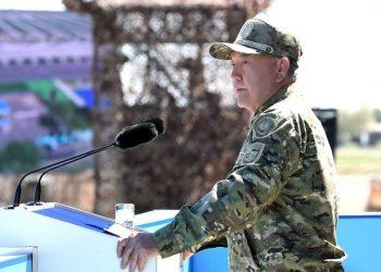 Назарбаев поздравил казахстанцев с Днем защитника Отечества 1