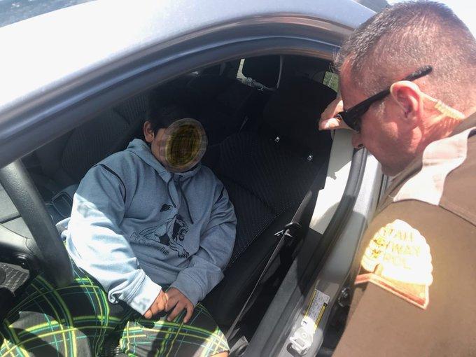 Пятилетний мальчик угнал машину родителей и отправился покупать Lamborghini