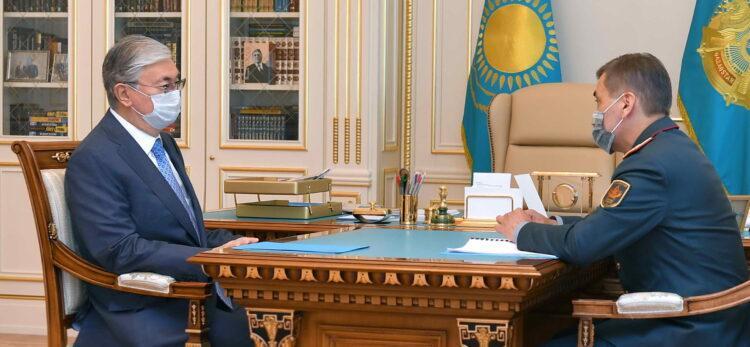 Ермекбаев рассказал Токаеву о новом облике Вооруженных Сил Казахстана 1