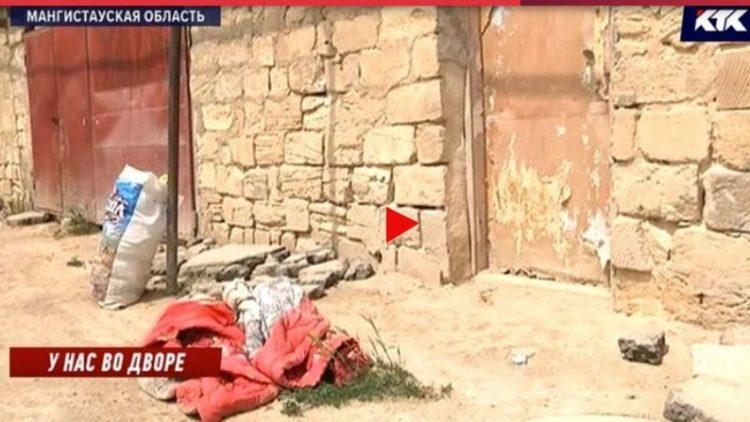 Младенца в пакете нашли у дверей частного дома в Мангистауской области