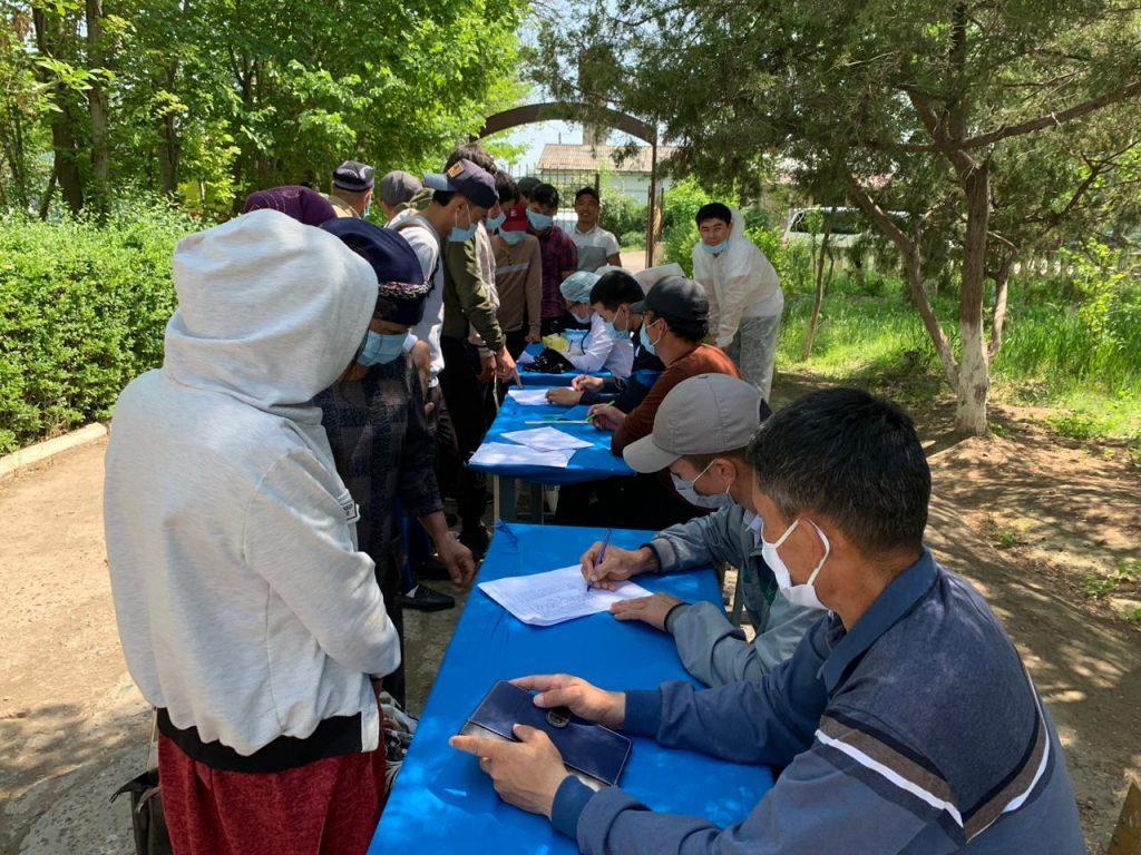ЧС техногенного характера в Туркестанской области: Умирзак Шукеев посетил затопленные села 2