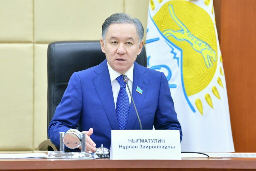 Фракция «Nur Otan» в Мажилисе законодательно поддержит антикризисный план правительства - Нигматулин